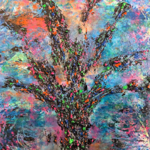 In Living Color - Painting by Lea Dingman